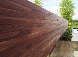 Tuinwand versus plankenscherm